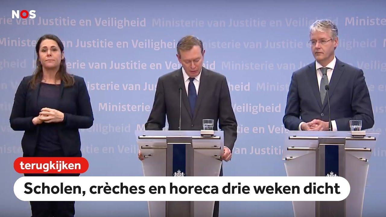 Strenge Coronavirus Maßnahmen Der Niederlande